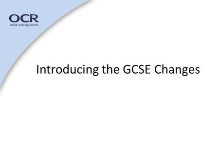 Introducing the GCSE Changes. Music Subject Specialist – Marie Jones Music Subject Specialist and lead for Music GQ Reform Formerly music teacher, HoD,