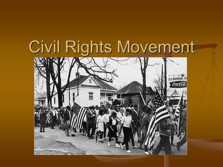 Civil Rights Movement. SCLC The __________________________________ ____ (SCLC) was organized by ___________________. The __________________________________.