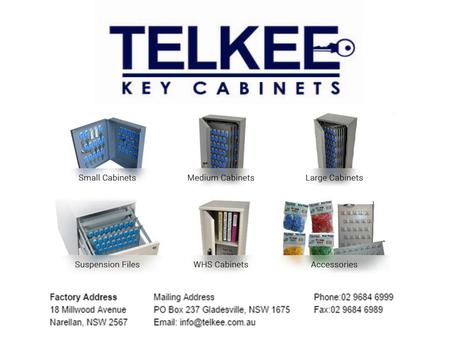 Telkee Lockable Key Cabinets is an Australian owned and operated company, located in Sydney, Australia that provides quality, steel key management solutions.
