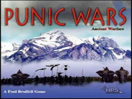 "ROME Part I: The Punic Wars. The Punic Wars: 264-146 BCE ""A lengthy and savage conflict fought between Rome and Carthage for dominance of the entire."