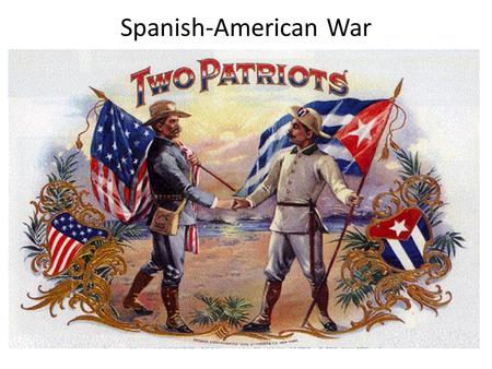 Spanish-American War. Spain's Rule Over Cuba Cuba was a colony of Spain. Cubans wanted to be independent of Spanish rule and wanted to overthrown the.