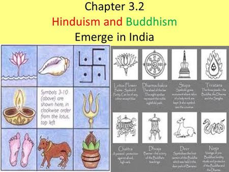 Chapter 3.2 Hinduism and Buddhism Emerge in India.