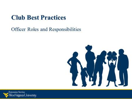 Club Best Practices Officer Roles and Responsibilities.