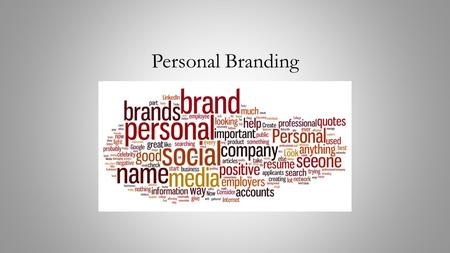 Personal Branding. Objectives How do you see yourself? How do others see you? What is your personal brand?