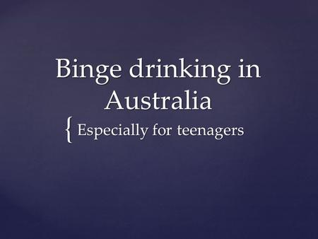 Teenage dating in Australia