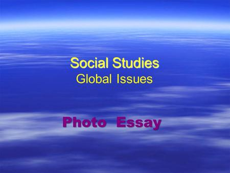 essays on globalization issues Essays on ethical issues in globalization and the present article highlights the ethical issues with respect to the globalization of market and also the.