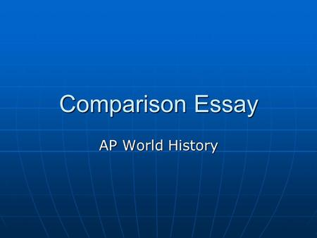 world wide issues essay