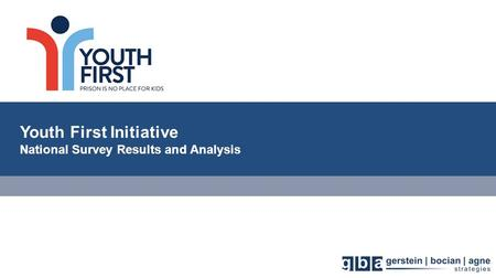 Youth First Initiative National Survey Results and Analysis.