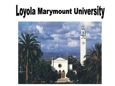 Loyola Marymount University Financial Aid Office.
