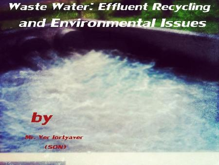 What is Effluent ? Effluent is wastewater - treated or untreated - that flows out of a treatment plant, sewer, or industrial outfall. … by the United.