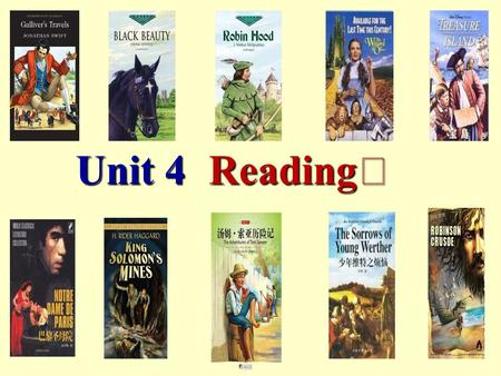 Reading Ⅰ Unit 4. Free talk 1. Do you like reading books in your spare time? 2. What type of book do you like best? 3. Why do you like them?