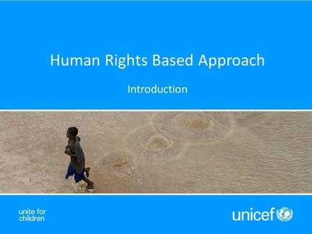 Human Rights Based Approach