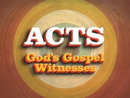 What It Takes To Belong Acts 14:24–15:21 The Jerusalem Council.