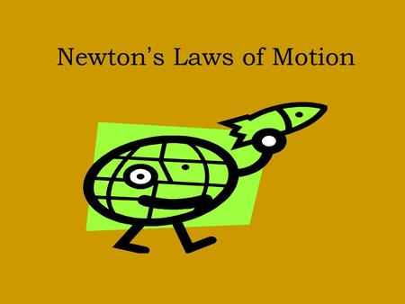 Newton's Laws of Motion. Sir Isaac Newton - English scientist & mathematician -discovered the 3 laws of motion -aka Newton's Laws of Motion - describe.