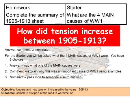 why did tension increase in europe from 1900 to 1014 essay Why did tension increase in europe between 1900 and 1914 why did blackadder on the causes of world war one - bbc debate-podcast on why war broke out.