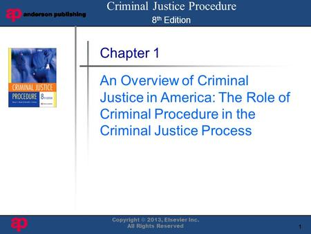 overview of the criminal justice system Justice system overview a brief overview of the virginia criminal justice system the criminal justice process begins when a crime is reported to the sheriff's office, state or local police department, or a magistrate for felonies.