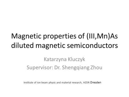 Magnetic properties of (III,Mn)As diluted magnetic semiconductors