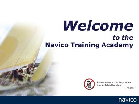 Welcome to the Navico Training Academy