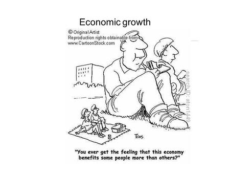 Economic growth. 2.5.1 Unit content: causes of growth and 2.5.2 Unit content: output gaps Students should be able to: Distinguish between actual and potential.