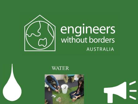 WATER. What are engineers ? Biomedical AerospaceCivil Mechatronics Electrical Chemical.