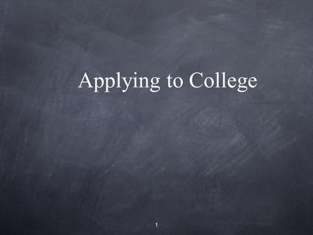 Applying to College 1. Before you Apply Research post-secondary options using www.ontariocolleges.cawww.ontariocolleges.ca 2.