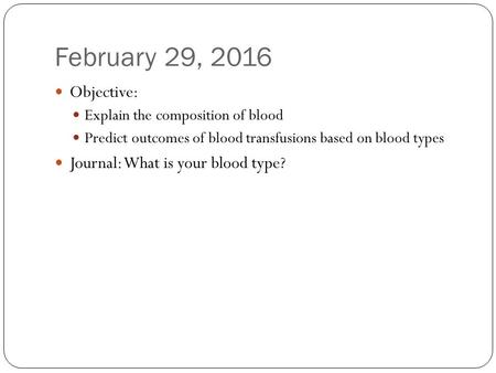 chapter 18 blood composition Chapter 9 description bama  just arrived for a fasting blood test c)  prolonged tourniquet application may cause a change in blood composition primarily.