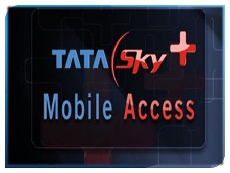 The intended target group is Tata Sky users in SEC A & B service class person in the metros in the age group of 25 – 45 years. While the intended.