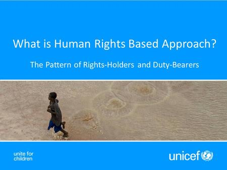What is Human Rights Based Approach? The Pattern of Rights-Holders and Duty-Bearers.