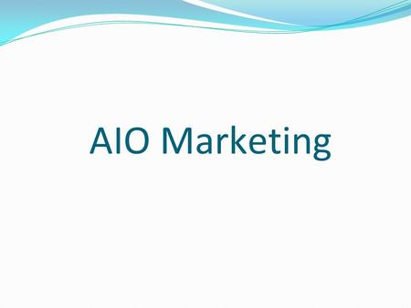 AIO Marketing. About Us The AioInternetMarketing has amongst the largest pool of SEO & Internet marketing experts you will find at an agency. AioInternetMarketing.