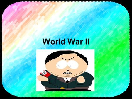 World War II. Europe between the World Wars The Versailles Treaty of 1919 put the blame for the war on Germany and planted the seeds of WWII. The Versailles.