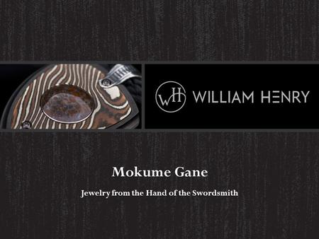 Mokume Gane Jewelry from the Hand of the Swordsmith.