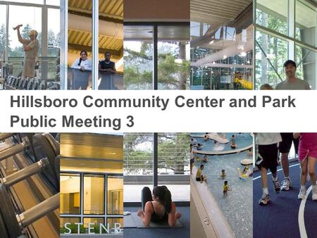 Opsis Architecture | Ballard*King Opsis Architecture | Lango Hansen Hillsboro Community Center and Park Public Meeting 3.