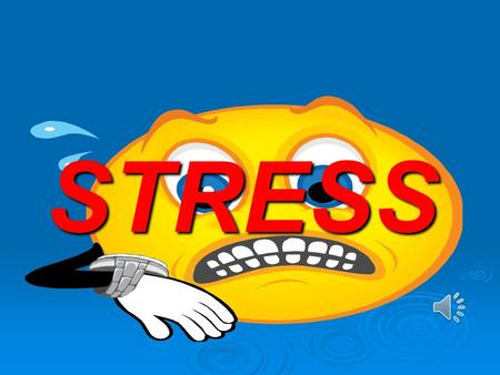 STRESS Eustress  Good/ Positive Stress  Helps motivate and achieve goals Effects of Eustress: AlertFocusedMotivatedEnergized.