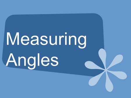 Measuring Angles. Vocabulary An angle has two sides and a vertex. The sides of the angles are rays. The rays share a common endpoint (the vertex) Angles.