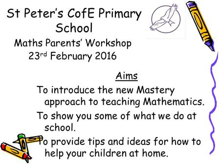 St Peter's CofE Primary School