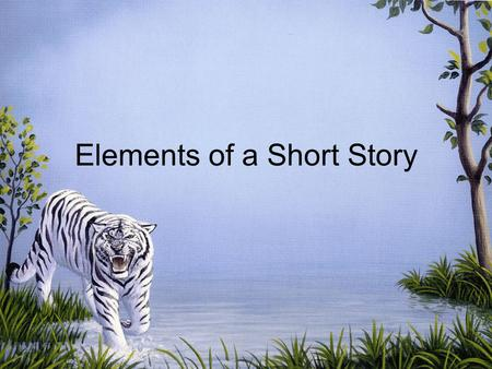 Elements of a Short Story Plot Climax ExpositionResolution Rising ActionFalling Action.