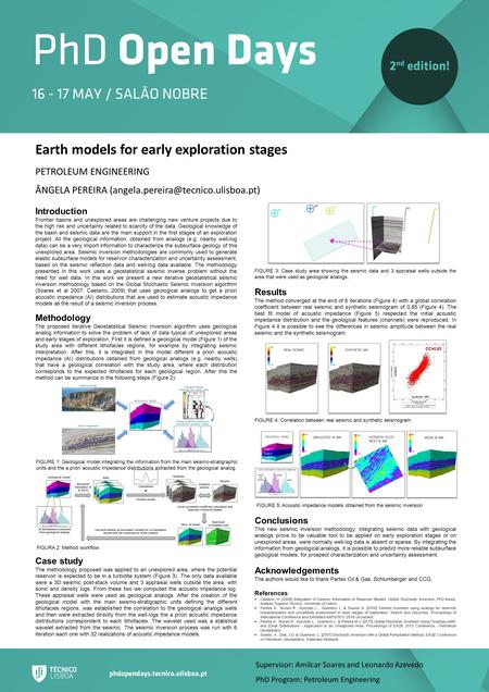 Earth models for early exploration stages PETROLEUM ENGINEERING ÂNGELA PEREIRA Introduction Frontier basins and unexplored.
