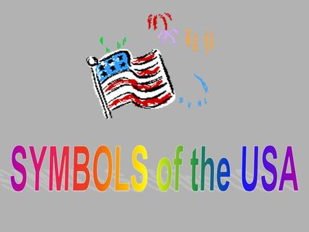 SYMBOLS of the USA.