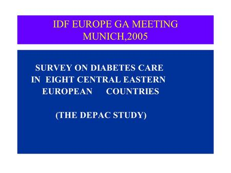 EUROASPIRE. A European Society of Cardiology survey of ...