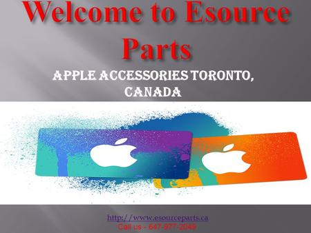 Call us - 647-977-2049 Apple Accessories toronto, Canada.