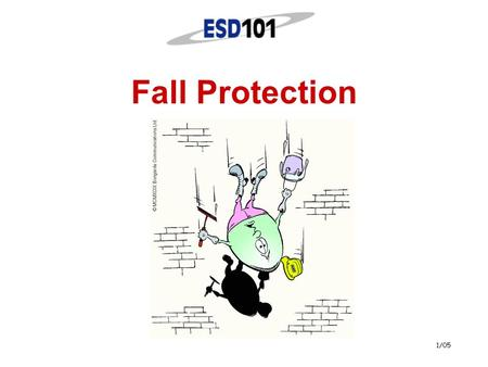 1/05 Fall Protection 2 Notice  This presentation is provided to all Educational Service District 101 (ESD 101) schools at no cost.  This presentation.