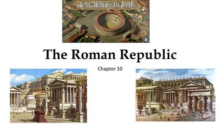 The Roman Republic Chapter 10. Bell Ringer January 7, 2016 Page 317 – Interpreting Maps 1.What mountain range runs down the length of the Italian Peninsula?