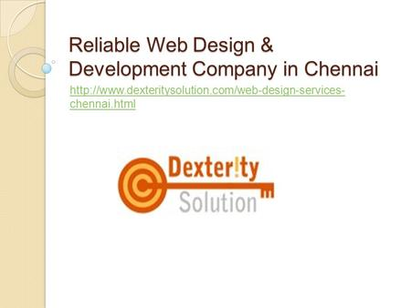 Reliable Web Design & Development Company in Chennai  chennai.html.