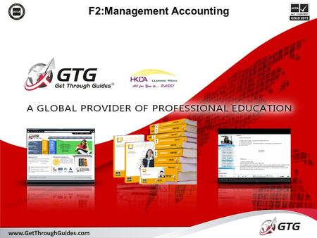 F2:Management Accounting. Designed to give you knowledge and application of: Section D: Cost accounting techniques D1. Accounting for materials D2. Accounting.