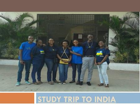 STUDY TRIP TO INDIA. Students from STES-RWANDA Visited STES PANDHARPUR Engineering College in order to thanks teachers who come to teach in STES RWANDA.
