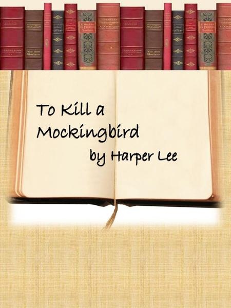 a character analysis of scout from the novel to kill a mockingbird by harper lee