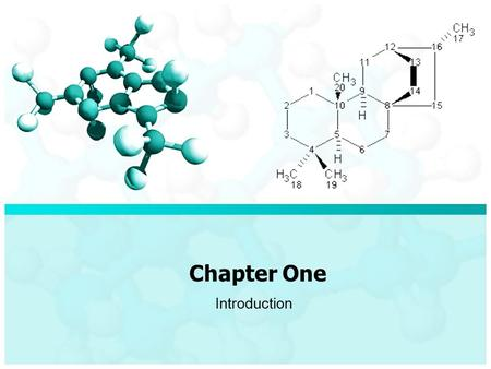 Chapter One Introduction. What is Chemistry? Chemistry is Matter is anything that occupies space and has mass Thus Matter is everything around us. Chapter.
