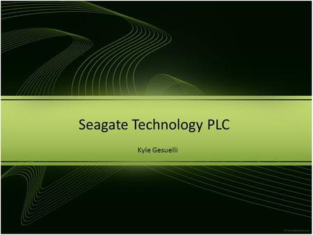 Seagate Technology PLC Kyle Gesuelli. Which securities fit with the portfolio's strategy and make sense in the current market? STX comprises largest loss.