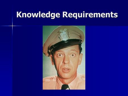 Knowledge Requirements. Who does this apply to? Who does this apply to? - Facility Security Officers (FSO) - Facility Security Officers (FSO) - Facility.