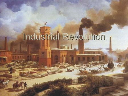Industrial Revolution Railroads -History  1860= 35,000 mi.  (most east of Miss. R.).  1900= 192,000 mi.